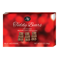 Mille Lacs - Milk Chocolate Teddy Bears with Peanut Butter *** Temporarily Out of Stock ***