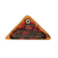Northwoods Cheese -Cranberry Cheddar Triangle  *** Out for the 2020 Season ***