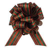"Perfect Bow - Christmas Plaid  - 5-1/2"" x 20 loops"