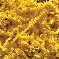 Spring-Fill crinkle Cut 10 lb. - Yellow