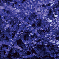 Spring-Fill crinkle Cut 10 lb. - Royal Blue