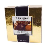 Sanders Milk and Dark Chocolate LUXE Assortment - 14 Pieces