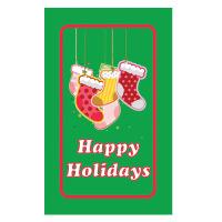 Happy Holiday Label *** Temporarily Unavailable ***