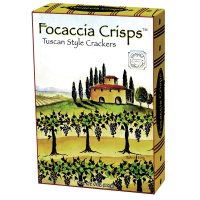 Vineyard  Focaccia Crisps