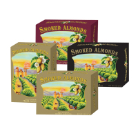 California Smoked Almonds -Assorted