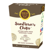 Snacks From the Sun Sunflower Chips - Original Sea Salt