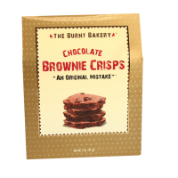 The Burnt Bakery Brownie Crisps *** Case size hanged from 20 to 24 ***
