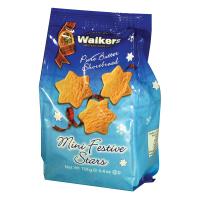 Walker's Shortbread - Festive Stars  *** 50% off! Best by August 31, 2021 ***