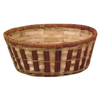 """8"""" Round Bamboo Bowl"""