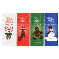 Cocoa Amoré Holiday Cocoas - Assorted Flavors *** Available Fall, 2020 ***
