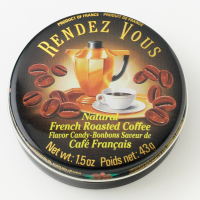 Rendez Vous Tins - Coffee (12/case) *** Not Available Until later in 2020 ***