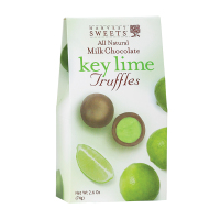 Harvest Sweets Milk Chocolate Key Lime Truffle    *** Available Fall, 2020 ***