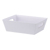 White Solid - Large Tray