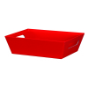 Red Solid - Large Tray