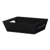 Black Solid - Large Tray