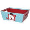 Joyful Snowman - Large Tray