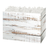 Distressed White Wood - Large Box