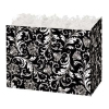 Black and White Damask - Small Box