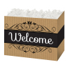 Welcome Kraft Stripes - Small Box