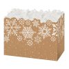 Kraft Snowflakes - Small Box