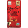 Chocolove Cherry & Almonds - Dark Chocolate (55%)  *** Available Fall, 2020 ***