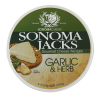 Sonoma Jacks - Garlic & Herb Cheese *** 1 PARTIAL Case! 11 Pieces! 5% off! Best by August 5, 2021! ***