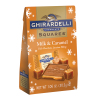 Ghirardelli Holiday Milk Chocolate & Caramel Bag  *** Available Fall, 2020 ***