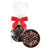Long Grove Dark Chocolate Peppermint Snowflake