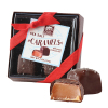 Long Grove Confectionery Dark Chocolate Box - 4 Pc. Box Sea Salt Caramel