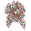 "Perfect Bow - Christmas Holly  - 5-1/2"" x 20 loops"