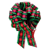 "Perfect Bow -Tartan  - 5-1/2"" x 20 loops"