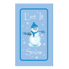 Let It Snow Label *** Temporarily Unavailable ***