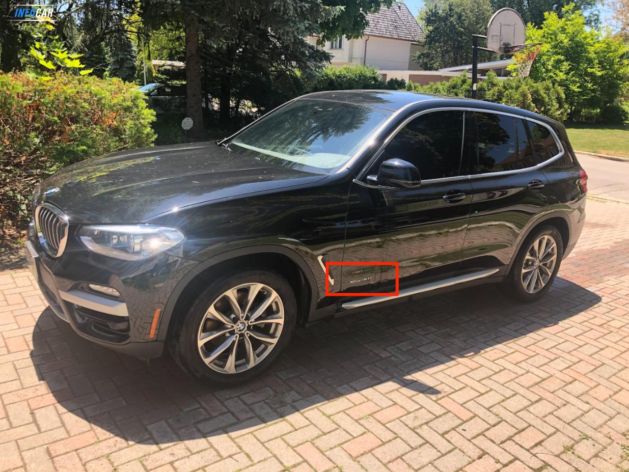 2018 BMW X3 x drive 30i - INFOCAR - Toronto's Most Comprehensive New and Used Auto Trading Platform