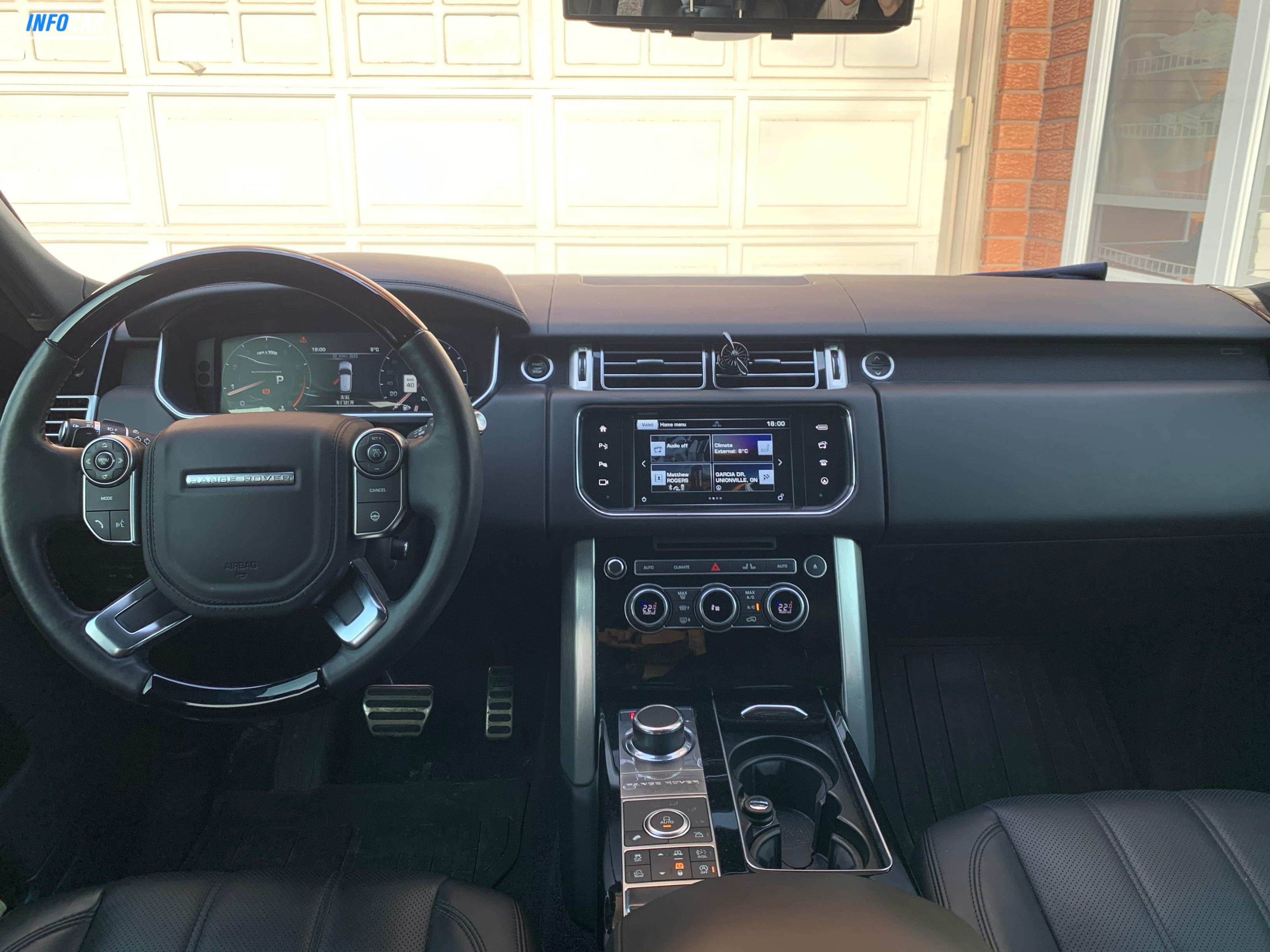 2016 Land Rover Range Rover supercharge - INFOCAR - Toronto's Most Comprehensive New and Used Auto Trading Platform