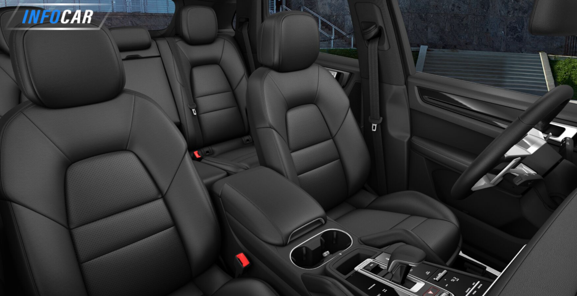 2021 Porsche Cayenne  - INFOCAR - Toronto's Most Comprehensive New and Used Auto Trading Platform