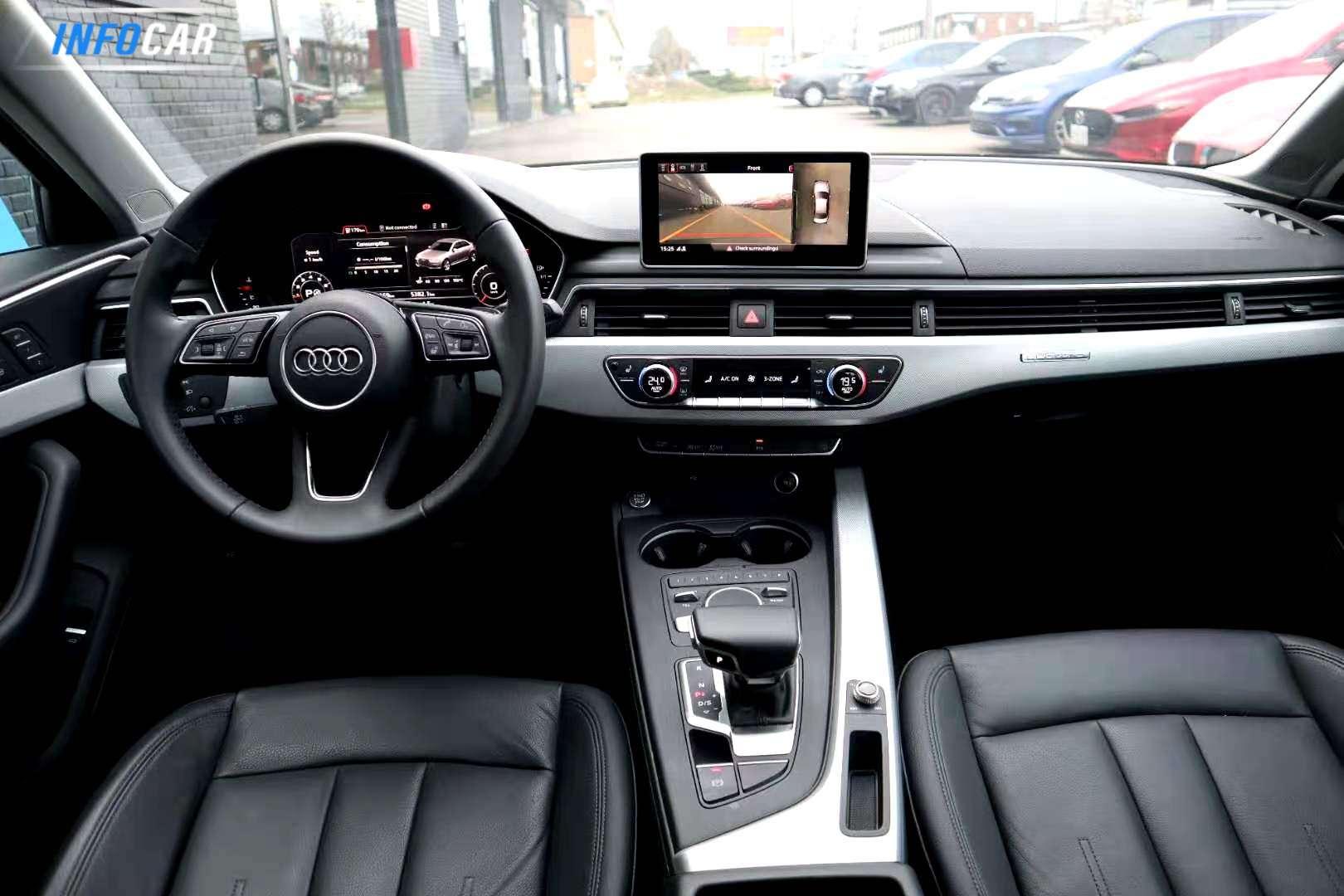 2019 Audi A4 technik - INFOCAR - Toronto's Most Comprehensive New and Used Auto Trading Platform