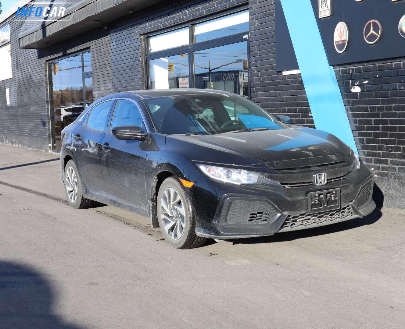 2019 Honda Civic HATCHBACK - INFOCAR - Toronto's Most Comprehensive New and Used Auto Trading Platform