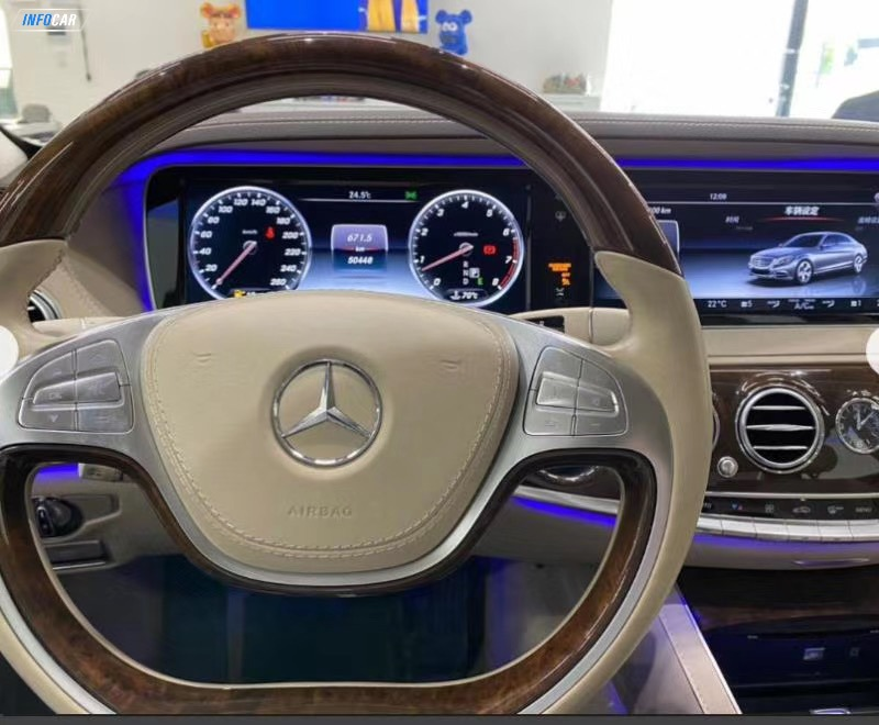 2017 Mercedes-Benz S-Class 550 LWB - INFOCAR - Toronto's Most Comprehensive New and Used Auto Trading Platform
