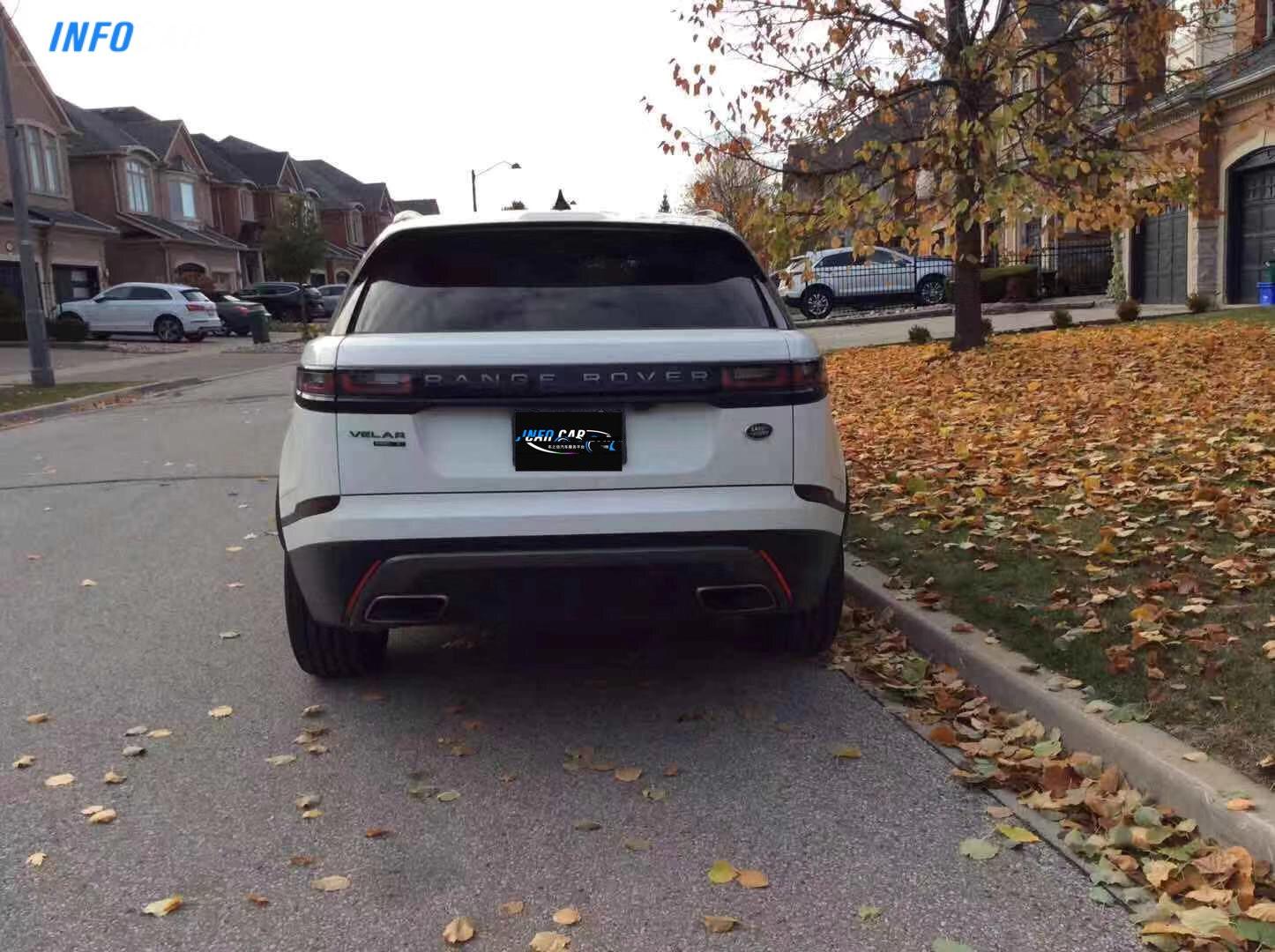 2020 Land Rover Range Rover Velar  - INFOCAR - Toronto's Most Comprehensive New and Used Auto Trading Platform