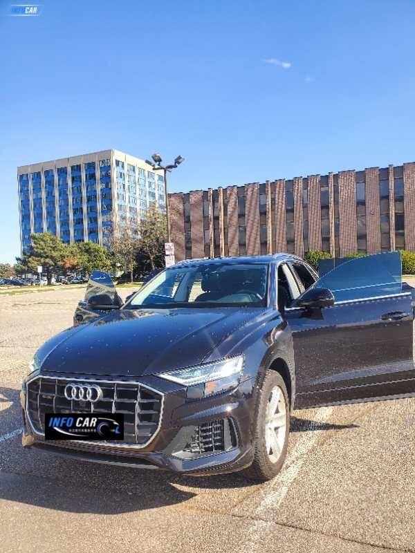 2019 Audi Q8 progressive - INFOCAR - Toronto's Most Comprehensive New and Used Auto Trading Platform
