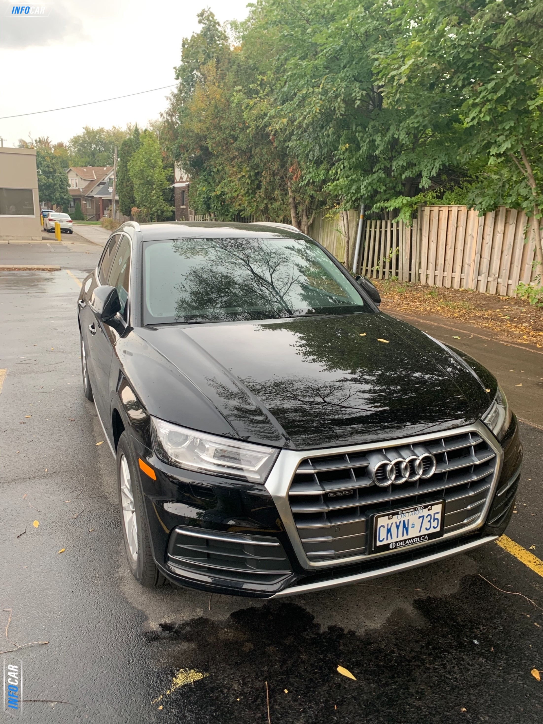 2019 Audi Q5  - INFOCAR - Toronto's Most Comprehensive New and Used Auto Trading Platform