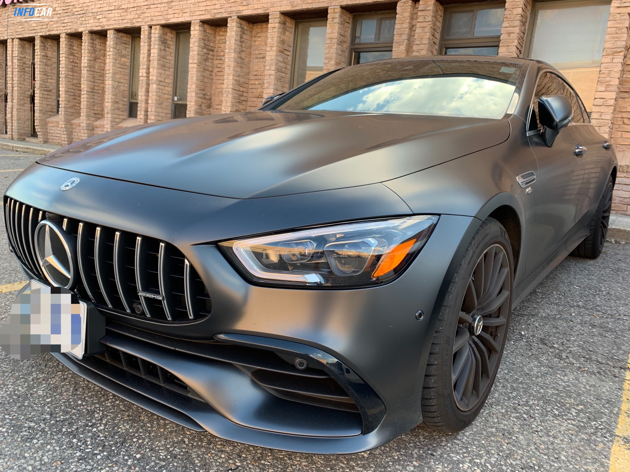 2020 Mercedes-Benz AMG GT 53 - INFOCAR - Toronto's Most Comprehensive New and Used Auto Trading Platform