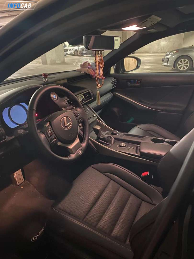 2019 Lexus IS 300 fsport - INFOCAR - Toronto's Most Comprehensive New and Used Auto Trading Platform