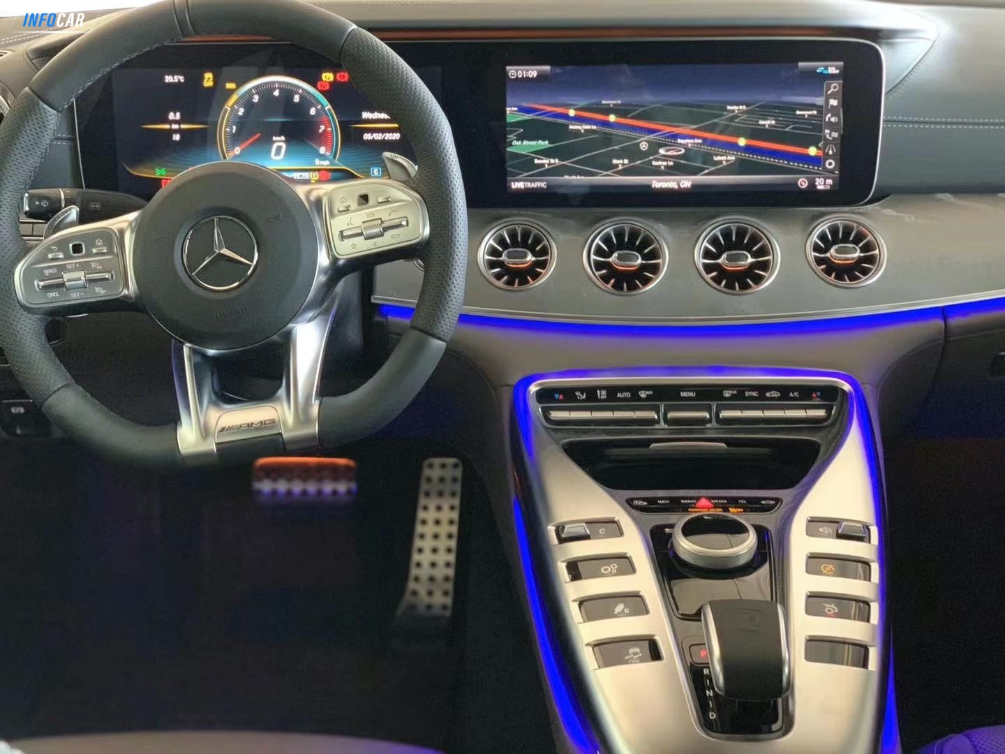 2020 Mercedes-Benz G-Class GT53 AMG - INFOCAR - Toronto's Most Comprehensive New and Used Auto Trading Platform