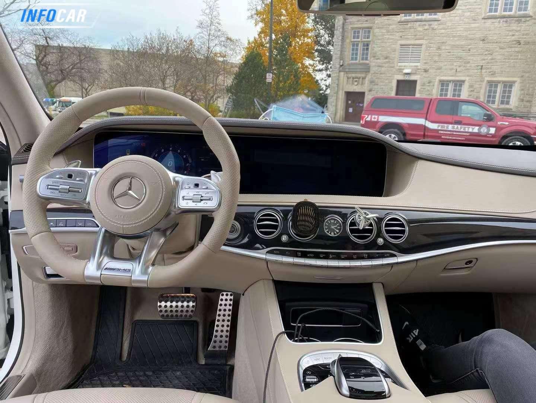 2019 Mercedes-Benz S-Class S63 sedan - INFOCAR - Toronto's Most Comprehensive New and Used Auto Trading Platform