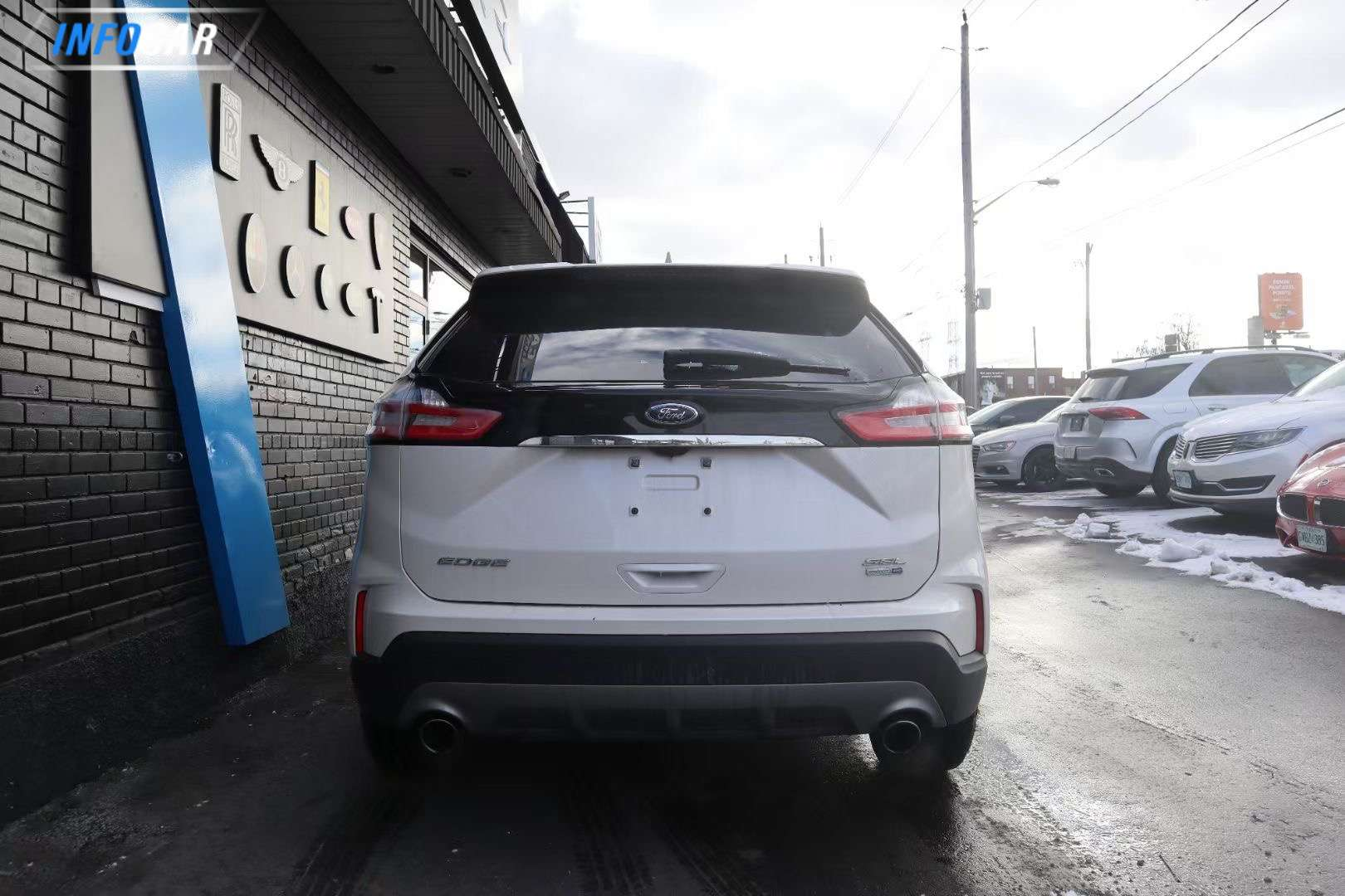 2019 Ford Edge SEL - INFOCAR - Toronto's Most Comprehensive New and Used Auto Trading Platform