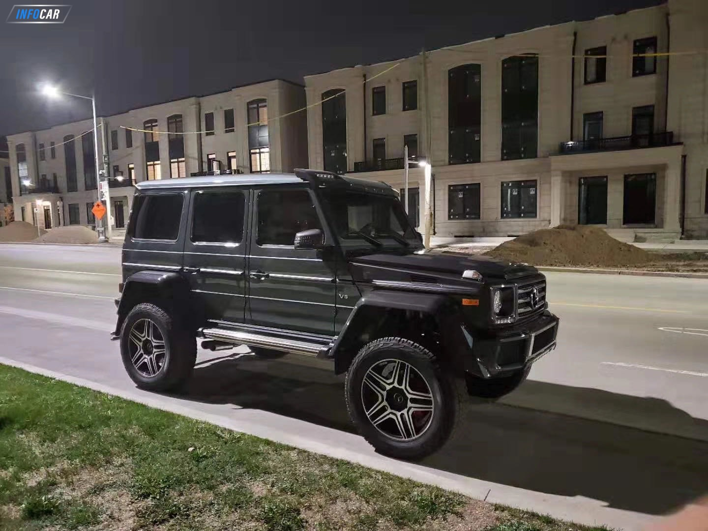 2018 Mercedes-Benz G-Class g550 4x4 - INFOCAR - Toronto's Most Comprehensive New and Used Auto Trading Platform