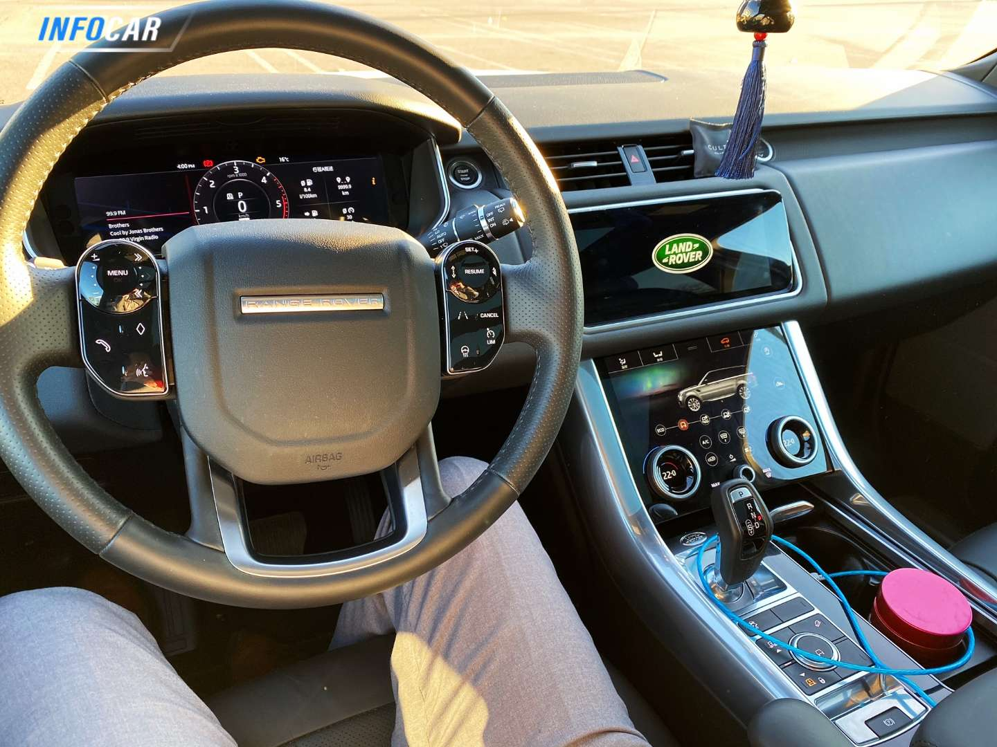 2020 Land Rover Range Rover Sport Range Rover Sport TD6 HSE - INFOCAR - Toronto's Most Comprehensive New and Used Auto Trading Platform
