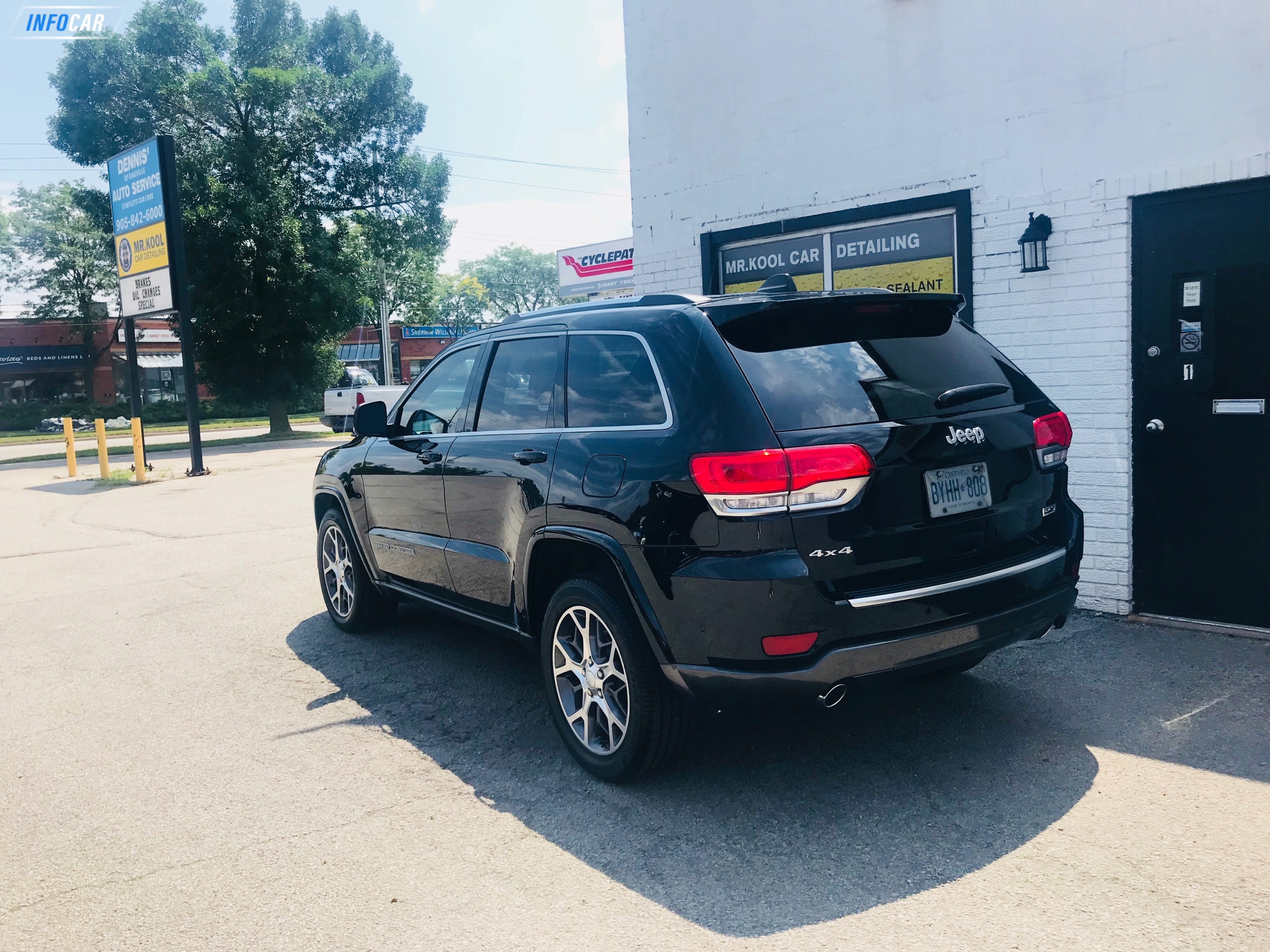 2018 Jeep Grand Cherokee Limited 4x4 - INFOCAR - Toronto's Most Comprehensive New and Used Auto Trading Platform