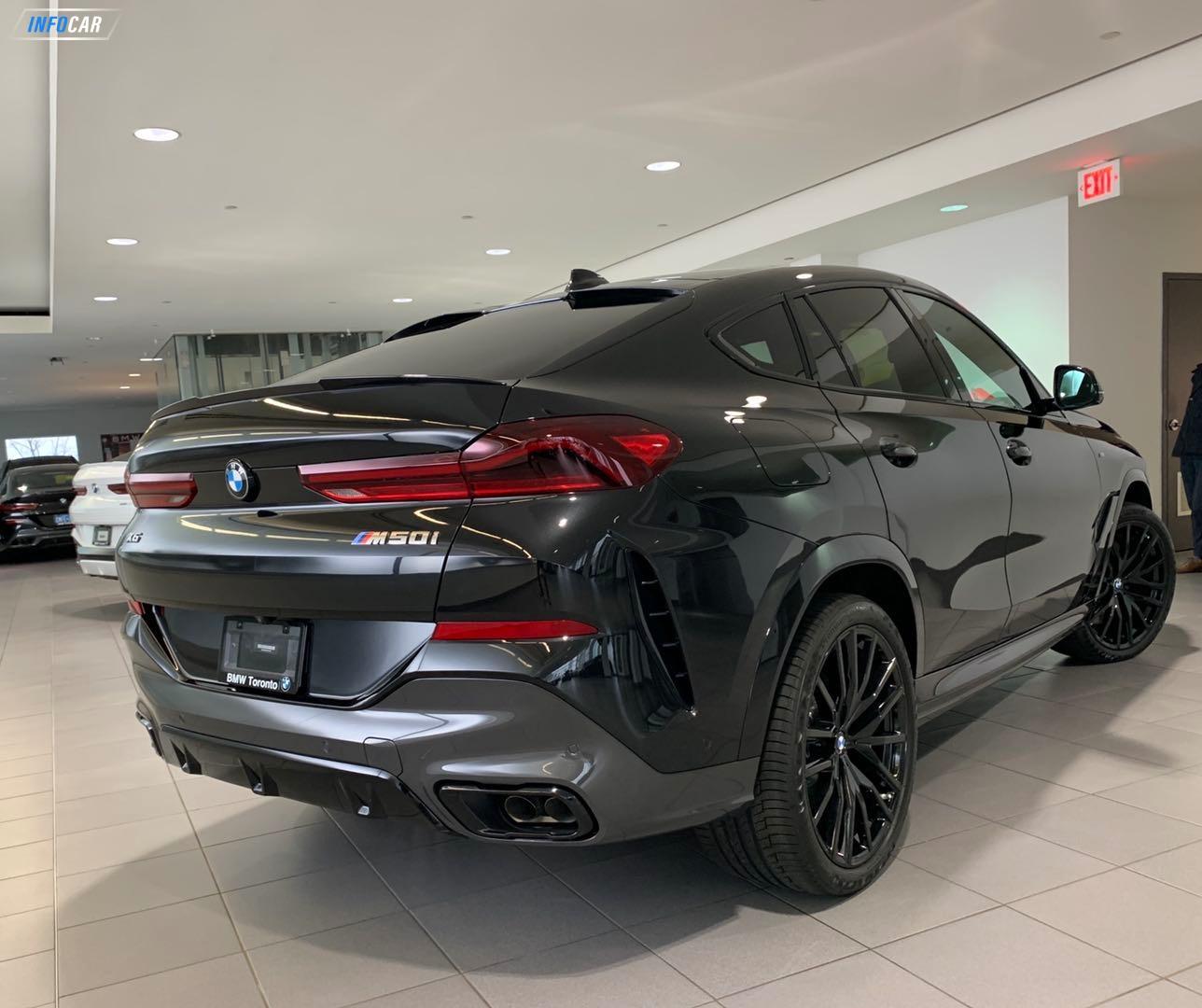 2020 BMW X6 M50i (含5400押金) - INFOCAR - Toronto's Most Comprehensive New and Used Auto Trading Platform